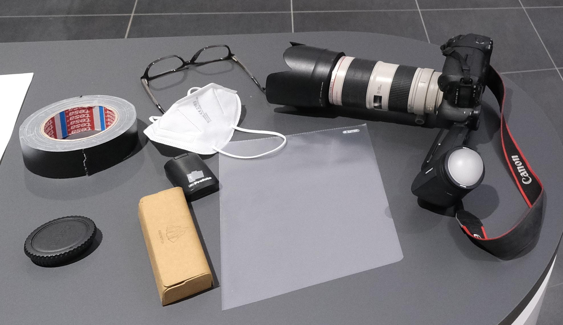 Foto Ausrüstung Corona